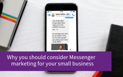 5 Reasons to Use Facebook Messenger Marketing (Chatbots)