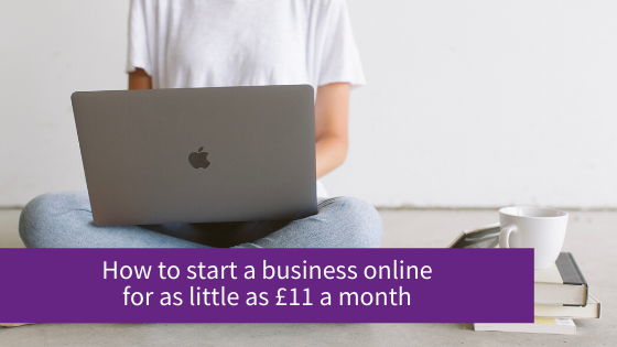 How to start a business online for the least amount of money