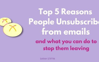 Top 5 reasons why people unsubscribe and what you can do about it